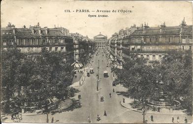 Avenue de l'Opéra 1929 dans Années 1919-1939 walter-parents