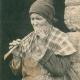 Bretonne fumant la pipe, 1915