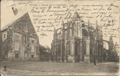 Cathédrale de Tours, 1904 dans Années 1900 cathedrale-de-tours