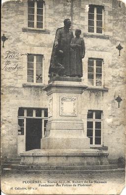 Clovis Estère, hôpital Ploërmel
