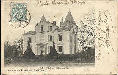 Château de Moulins, 1904 dans Années 1900 guenaud-rechaussat-a-clovis-1904