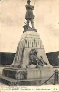 Saint-Maixent, statue (1944) saint-maixent-1944-192x300