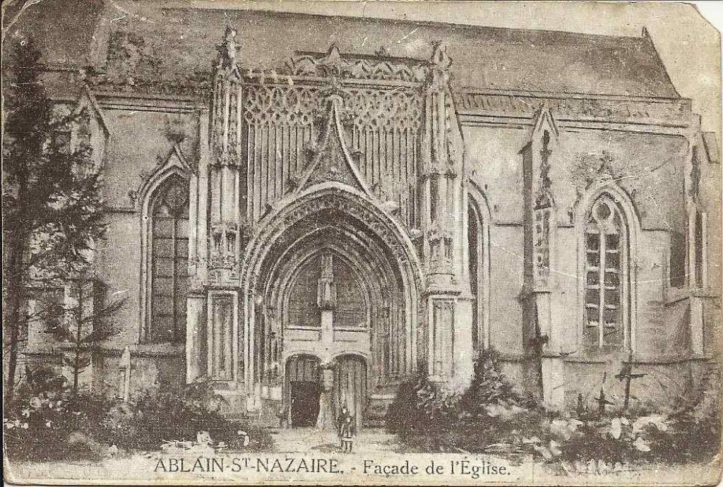 Ablain St Nazaire, église