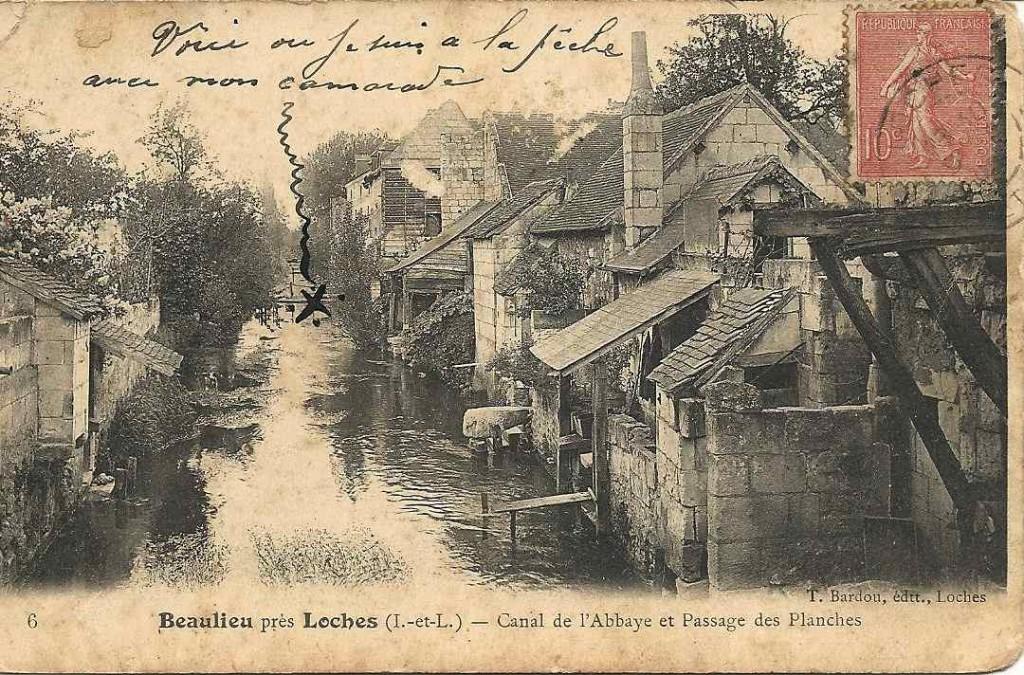 Beaulieu, le canal 1905
