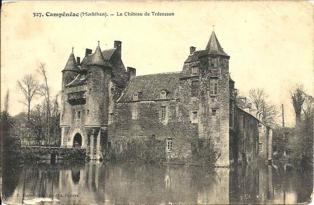 Campénéac, château
