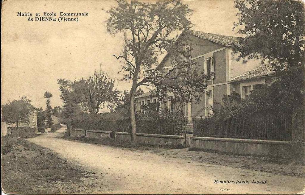 Dienn, mairie et école communale
