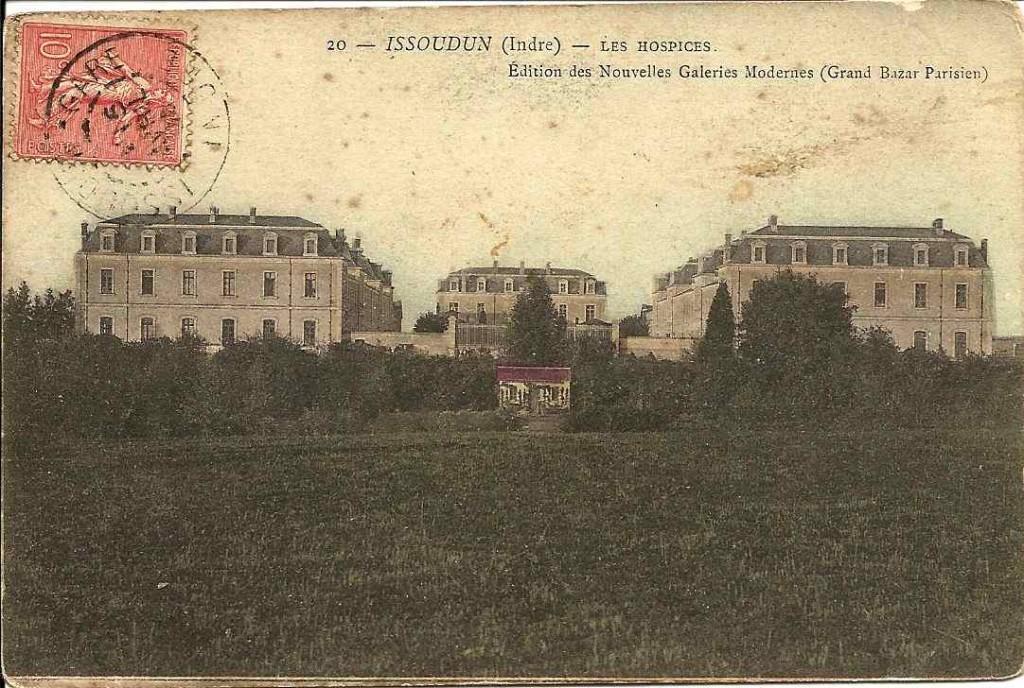 Issoudun, hospices
