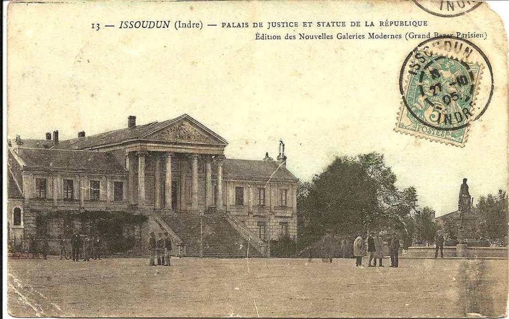 Issoudun, palais de justice