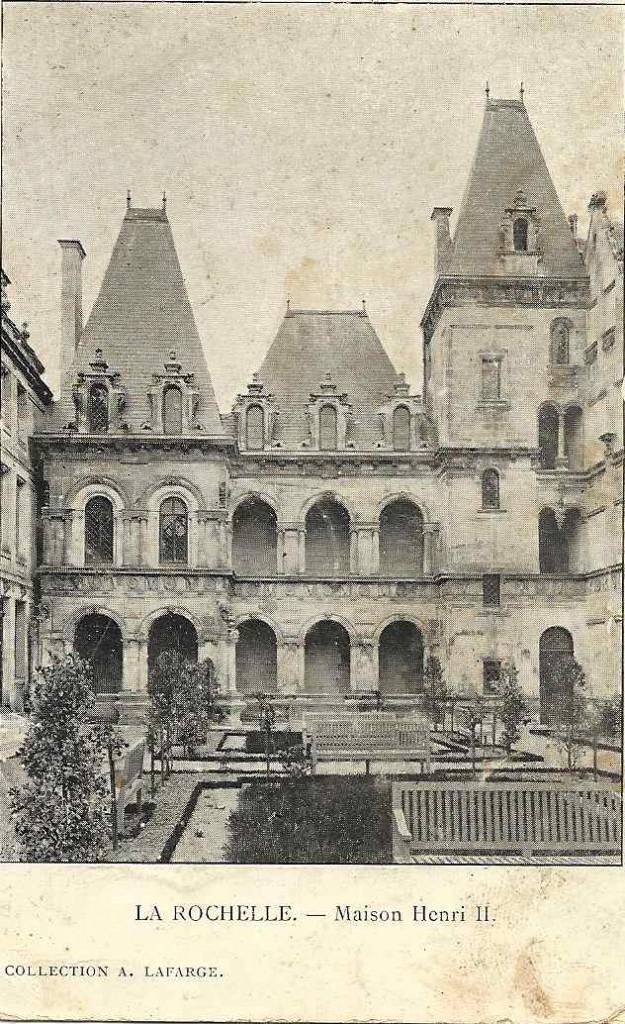 La Rochelle, maison Henri II