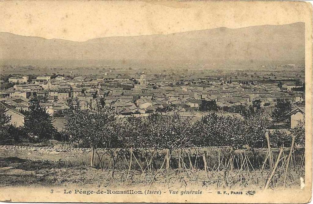 Le-péage-du-Roussillon, 1915