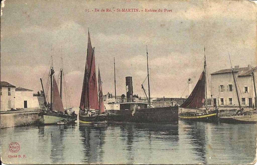 St Martin de Ré, entrée du port