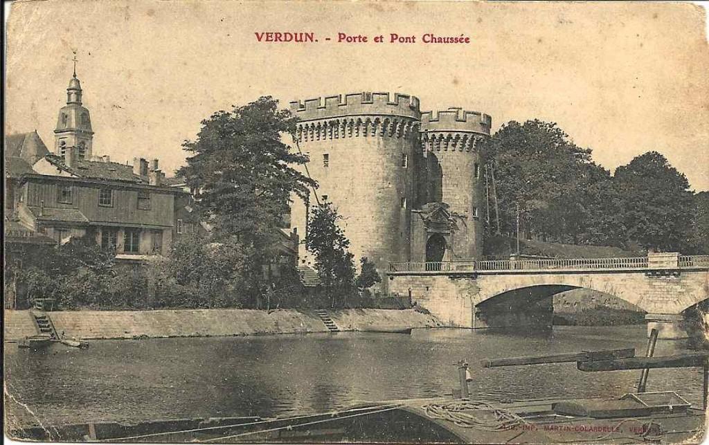 Verdun, porte et pont 1905